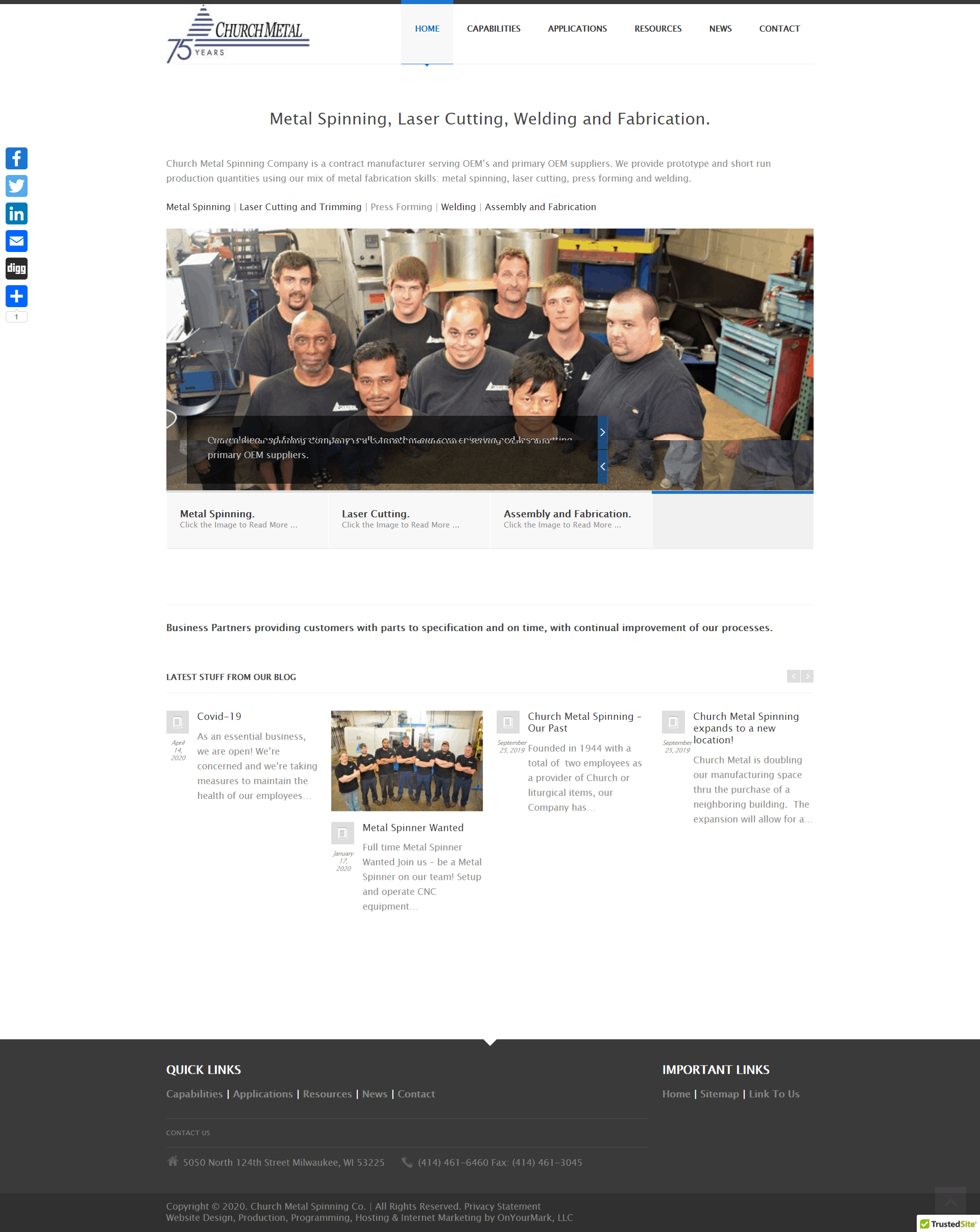 Manufacturing Websites, Your Source – Manufacturing.Website